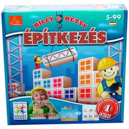 Bill és Betty építkezés Smart Games Bill & Betty bricks