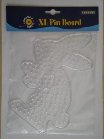 Vasalható gyöngy Forma XL, átlátszó nyuszi