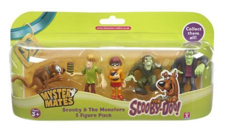 Scooby Doo kütyü 5 figurás készlet