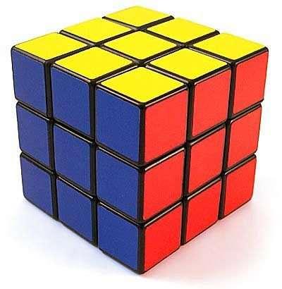 Rubik kocka, 3*3*3 dobozos