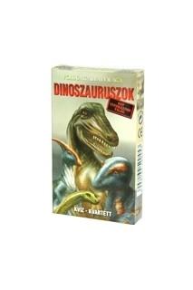 Kvartett: Dinoszaruruszok (kártya)