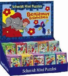 Benjamin az elefánt, minipuzzle, 54 részes 5x8