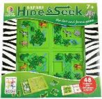 Állatrejtő - Smart Games / Hide & Seek Safari