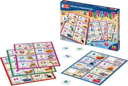 Keller & Mayer játszva megismerjük a ... betűket