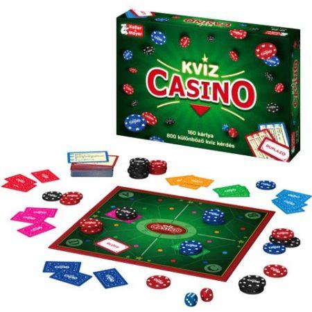 Keller & Mayer Kvíz Casino társasjáték