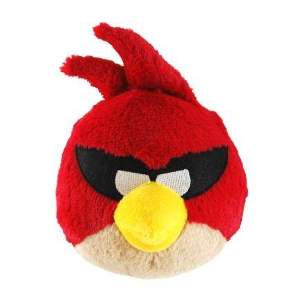 Angry Birds plüss - Szuper piros madár hangot adó, 41 cm