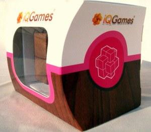 IQ GAMES: Burr puzzle dobozos