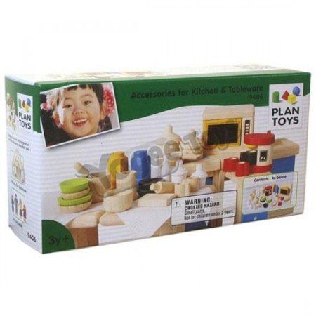 Plan Toys: Konyhai kellékek