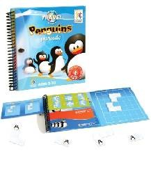 Pingvin Parádé logikai játék - Smart Games Magnetic Travel Penguins Parade