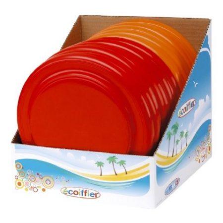 Écoiffier frizbi piros vagy narancssárga