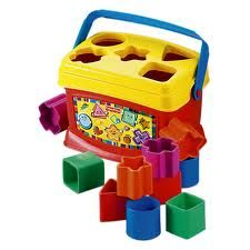 Fisher Price Formaevő dobozka