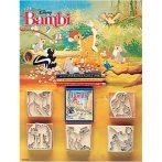 Bambi 5 db-os nyomdaszett színes ceruzákkal