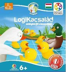 Logikacsalád logikai játék - Smart Games Magnetic Travel De-duck-tion