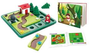 Piroska és a farkas logikai játék - Smart Games Little Red Riding Hood