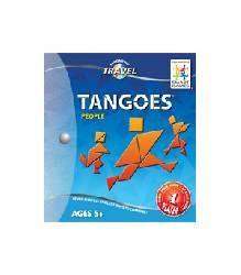 Tangoes Emberek mágneses ábrarakó utazójáték - Smart Games Magnetic Travel Tangoes People