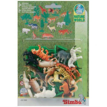Állatkerti állatok 17 részes