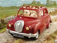 Sylvanian Families:  Új családi autó (piros)